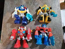 Playskool Heroes Transformers Rescue Bots lot of 4