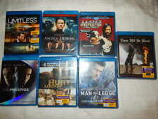Lot Of 7 Blu-Ray Movies~ Action/Suspense/Thriller- Special Ed's-New Sealed