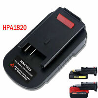 20V To 18V Li-Ion Battery Adapter HPA1820 For 18V Cordless BLACK&DECKER Tools