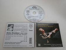 ANTON BRUCKNER/SYMPHONY NO. 4(ARTE CLÁSICOS DE NOVA 74321 72101 2) CD ÁLBUM