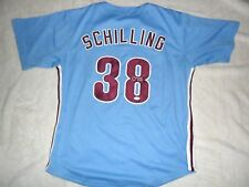 CURT SCHILLING PHILLIES SIGNED MLB JERSEY BASEBALL JSA COA PRIVATE SIGNING