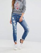 Tommy Hilfiger Gigi Hadid Blue Distressed SKINNY Jeans Venice W31/l34