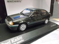 OPEL Kadett E 3 Türer Limousine 1989 grün green met NEU Minichamps PMA 1:43