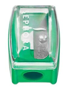 NEW Sephora GREEN Small Eye and Lip Liner Pencil Professional Quality Sharpener