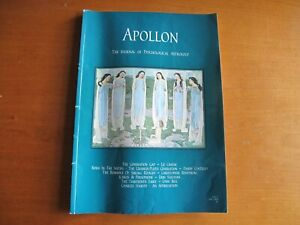 APOLLON, The Journal of Psychological Astrology, Issue 5, April 2000