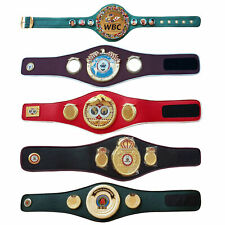 WBC WBA WBO IBF IBO Championships Boxing Belt Adult 5 Belts Set Premium Quality