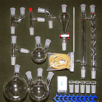 29pcs 24/40 Advanced Chemistry Lab Glassware Kit With Glass Ground Joint