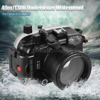 MEIKON Camera Diving Waterproof Housing Case Shell for Canon G7X Mark II B1K6