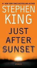 NEW / UNREAD Just After Sunset, Stephen King 2009 1st PB Ed / 1st Printing FINE+