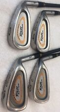 CLEVELAND GOLF TOUR ACTION TA5  LOT OF 4 MATCHED IRONS 3 4 6 8 GRAPHITE SHAFT