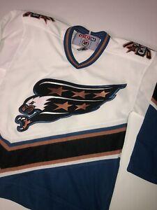 WASHINGTON CAPITALS EAGLE JERSEY Youth S/M CCM 90s 1990s NHL
