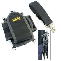 Universal Waist Carrying Belt Bag With Shoulder Strap For Camera Monopod Tripod