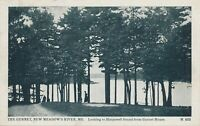 MAINE ME – New Meadows River Harpswell Sound from Gurnet House Meadow's - 1911