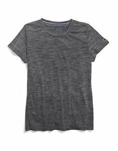Champion Tee Shirt Short Sleeve Heather Womens Vapor FreshIQ Wicking Scoopneck