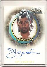 Xena Quotable Jay Laga'aia as Draco Signed Trading Card #A44