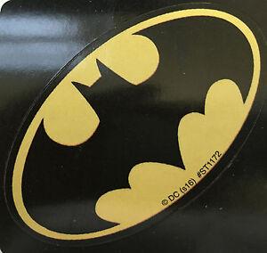 20 Batman Oval Shaped Stickers Party Favors Teacher Supply Birthday DC Comics