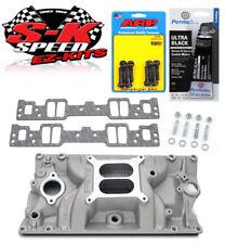 Edelbrock 7116 SB Chevy Vortec Performer RPM Intake Manifold w/Bolts/Gaskets/RTV