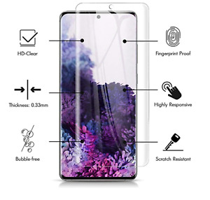 Samsung Galaxy S20 S20 Plus S20 Ultra TPU Screen Protector Silicone Case Cover