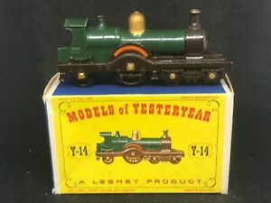 MIMB Matchbox Yesteryear Y14 Series 1 Iss 4 Duke of Connaught Loco w Type D1 Box