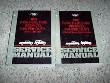 1995 Ford F-150 Shop Service Repair Manual XL Special 4.9L V6 5.0L 5.8L V8 OEM