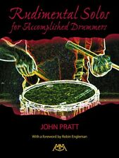 Rudimental Solos for Accomplished Drummers NEW 000317118