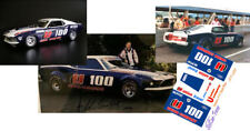 CD_3353 #U-100 Allen Moffat  1974 Ford Mustang  1:18 Scale Decals