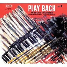 LOUSSIER, JACQUES-PLAY BACH 1  CD NEW