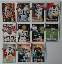 1989 Topps Green Bay Packers Team Set of 11 Football Cards