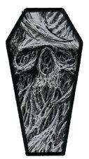 Spud Tattoo Coffin Woven Patch. Skulls. Skull. Horror Artwork