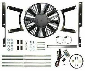 Revotec Electronic Cooling Fan Conversion Kit Austin Healey 100/4 - Neg Earth