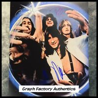 GFA x3 Neal Schon Rock Band * JOURNEY * Signed 11x14 Photo PROOF AD3 COA