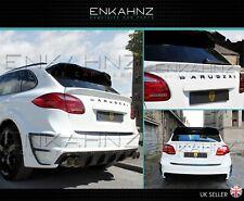 Porsche Cayenne 958 boot lid tailgate spoiler 2010 2011 2012 2013