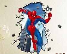 W190 Wandtattoo Wandsticker Wandaufkleber Spiderman Superheld Batman Marvel XXL
