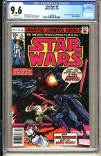 STAR WARS #6  CGC 9.6 WP NM+  Marvel Comics 1977  Jedi Darth Vader  (vol 1)