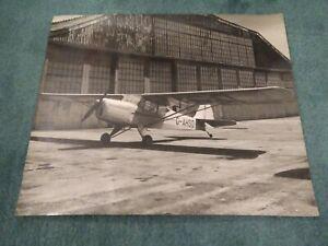 Auster Autocrat North Sea Air Transport Ltd Mablethorpe Linc's B/W Photograph