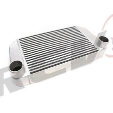 "REV9 UNIVERSAL V MOUNT TURBO INTERCOOLER FMIC 25X12X3.5 550HP 2.75"" INLET OUTLET"