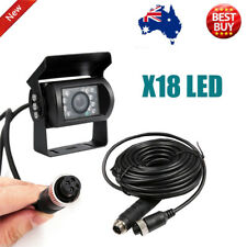 4 PIN Heavy Duty 12V 24V CCD IR Colour Reverse Reversing Camera Rearview 10M