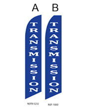 New listing Transmicion Flutter Feather Flag Swooper Advertising Sign Ba