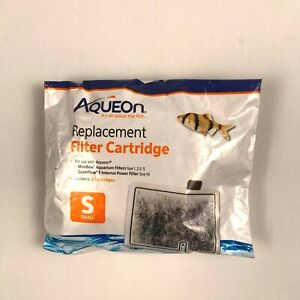 Aqueon 3 Pack Small Replacement Filter Cartridges For MiniBow And Quietflow