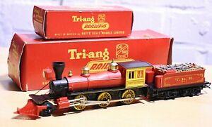 Vintage Triang R358 & R233 OO Davy Crockett Locomotive & Tender, Both Boxed