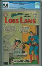 SUPERMAN'S GIRLFRIEND LOIS LANE #43 CGC 9.0 OW/WH PAGES