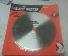 "BLACK AND DECKER BD47901L DIAMOND BLADE 9"""