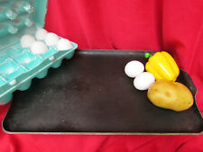 """New listing Vtg Griddle King Heavy Duty Cast Aluminum Non Stick Baking Sheet Grill 17""""x10"""""""