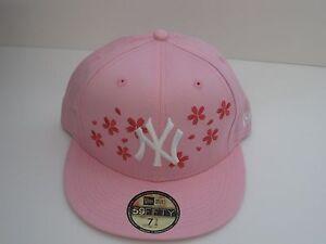 NEW ERA 59fifty NEW YORK cherry blossom  BASEBALL CAP -PINK- LIMITED