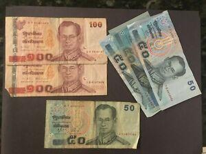 THAILAND  (6 Notes)  400 Baht