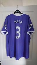 Tottenham Hotspur Spurs Purple 2011/2012 Gareth BALE Away Shirt Jersey  Size XL