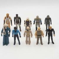 Vintage Star Wars Action Figure Lot of 10 Luke Skywalker Lando Bib Fortuna
