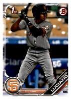 2019 Bowman Prospects Baseball #BP82 Marco Luciano San Francisco Giants