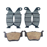 For Honda TRX450R 04-09 TRX450ER 06-14 Front and Rear Brake Pads Set 3 Pairs