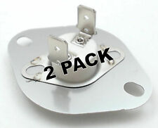 2 Pk, Dryer Thermostat for Whirlpool, Sears, Ap2946932, Ps346453, 3403607